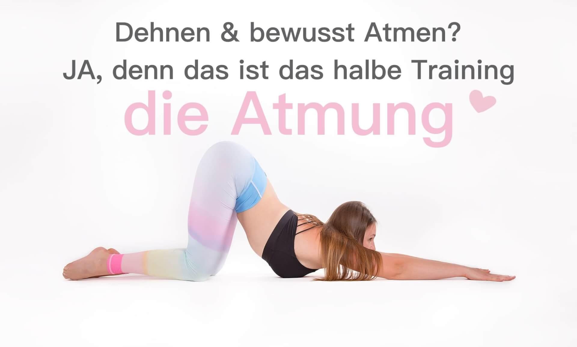 Dehnen & bewusst Atmen beim Stretching